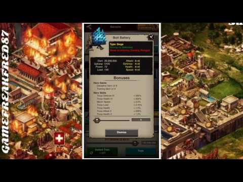 Game of War: Training Secrete  don't be dumb and Watch.