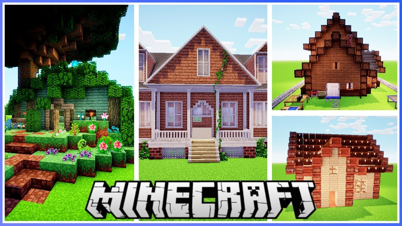 I Built All These Houses with Only One Mod!