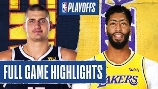 Los Angeles Lakers vs Denver Nuggets | September 20, 2020