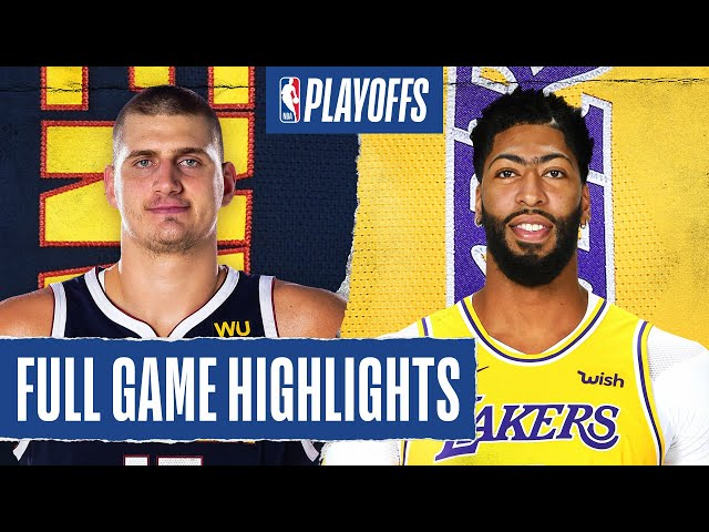 Los Angeles Lakers vs Denver Nuggets | September 20, 2020