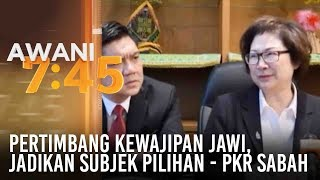 Pertimbang kewajipan jawi, jadikan subjek pilihan - PKR Sabah