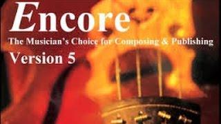 Cómo mover una nota en Encore 5
