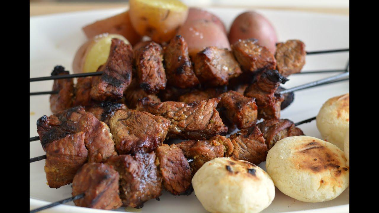 recetas de pinchos de carne