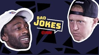 Brian Scalabrine vs. FamousLos32 | Bad Joke Telling