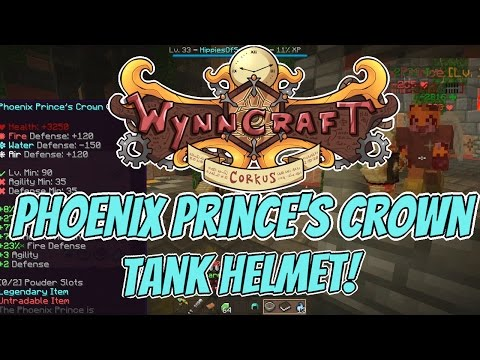 Wynncraft 1.16: Ancient Avos City + Phoenix Prince Helmet! (Corkus Discovery)