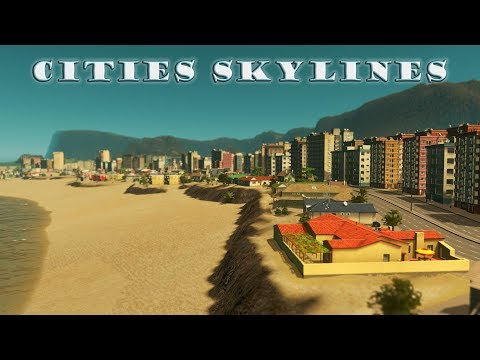 Cities Skylines: Episode 08 - The Planning of Luxury Island and Prime Beach Real Estate