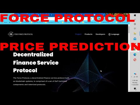 Force Protocol Price Prediction Fortube Token Coin Listed on Binance Crypto bank