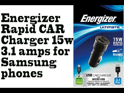 Energizer Ultimate Rapid Car Charger Dual Usb 15w 3 1 Amps For