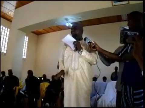 Le Ministre Ibrahima Kalil Konaté à Mamou