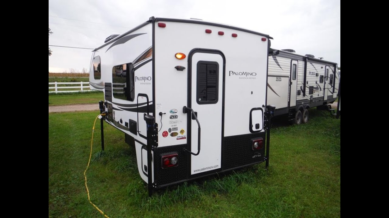 2019 Palomino Backpack Hs6601 Truck Camper Camp Out Rv In Stratford