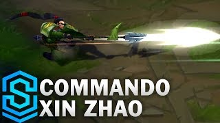 Commando Xin Zhao (2017) Skin Spotlight - League of Legends thumbnail