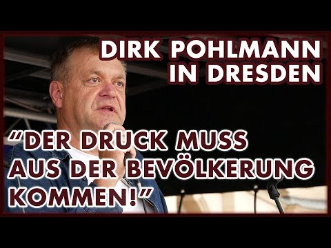Dirk Pohlmann in Dresden: Internationaler Tag des Friedens