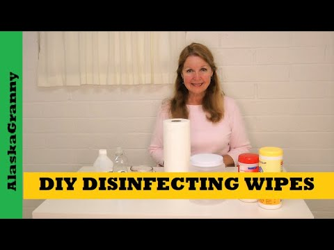 DIY Sanitizer Wipes How To Make Disinfectant Wipes