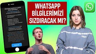 WhatsApp artık güvenli değil mi? Hangi bilgilerimiz Facebook ile paylaşılacak? WhatsApp