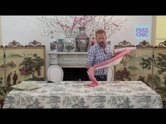Ramiro Arzuaga Viste tu mesa por Mas Chic TV:  Mesa Oriental