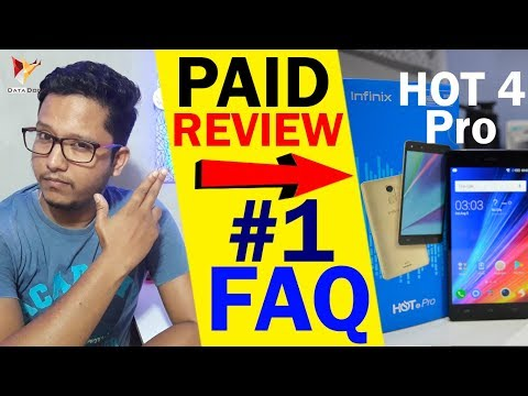 Infinix Hot 4 Pro FAQ #1 | Paid Review ???? | 😡😡 | Data Dock