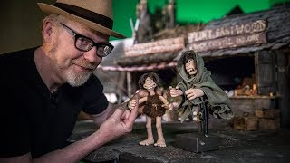 Adam Savage Meets Aardman Animations Director Nick Park!