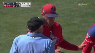 2018 Spring Training Ejections