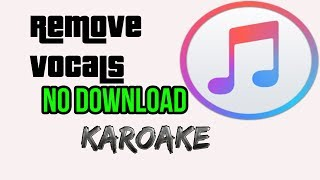 Download lagu HOW TO REMOVE VOCAL FROM ANY SONG NO DOWNLOAD ONLINE MP3