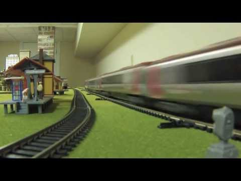 High Speed Model Trains Video! with Eurostar Acela TGV ICE TurboTrain Javelin Pendolino Voyager CRH