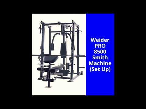 Weider PRO 8500 Smith Cage (Home Set Up)