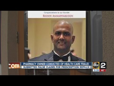 Pharmacy owner convicted of Medicaid fraud