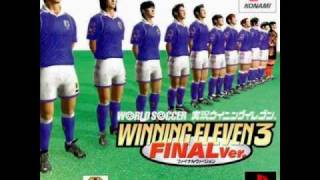 Winning Eleven 3 - Main Menu and Exhibition