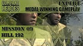 Company Of Heroes 09 Invasion Of Normandy Hill 192 Youtube