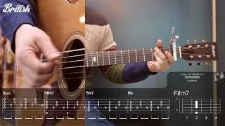 엑소(EXO) - Universe 통기타 강좌 guitar tutorial [브리티시 기타강좌]