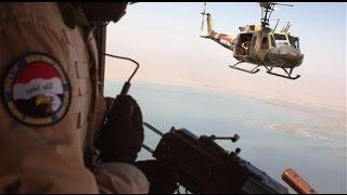 طائرات العراق تلقى منشورات على الشرقاط والقيارة لابتعاد المدنيين عن داعش