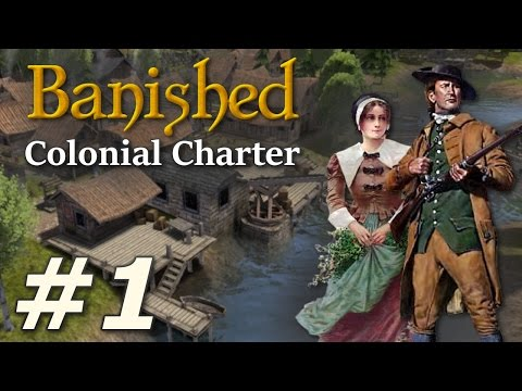 Banished: Colonial Charter (v1.71) - New Cardiff (Part 1)