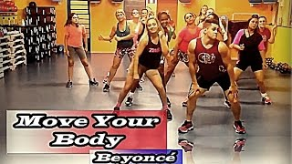 Beyoncé -  Move Your Body – Choreography Dance fitness zumba