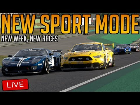 Gran Turismo Sport:  New Sport Mode Races | Abusing the OP Ford and Megane