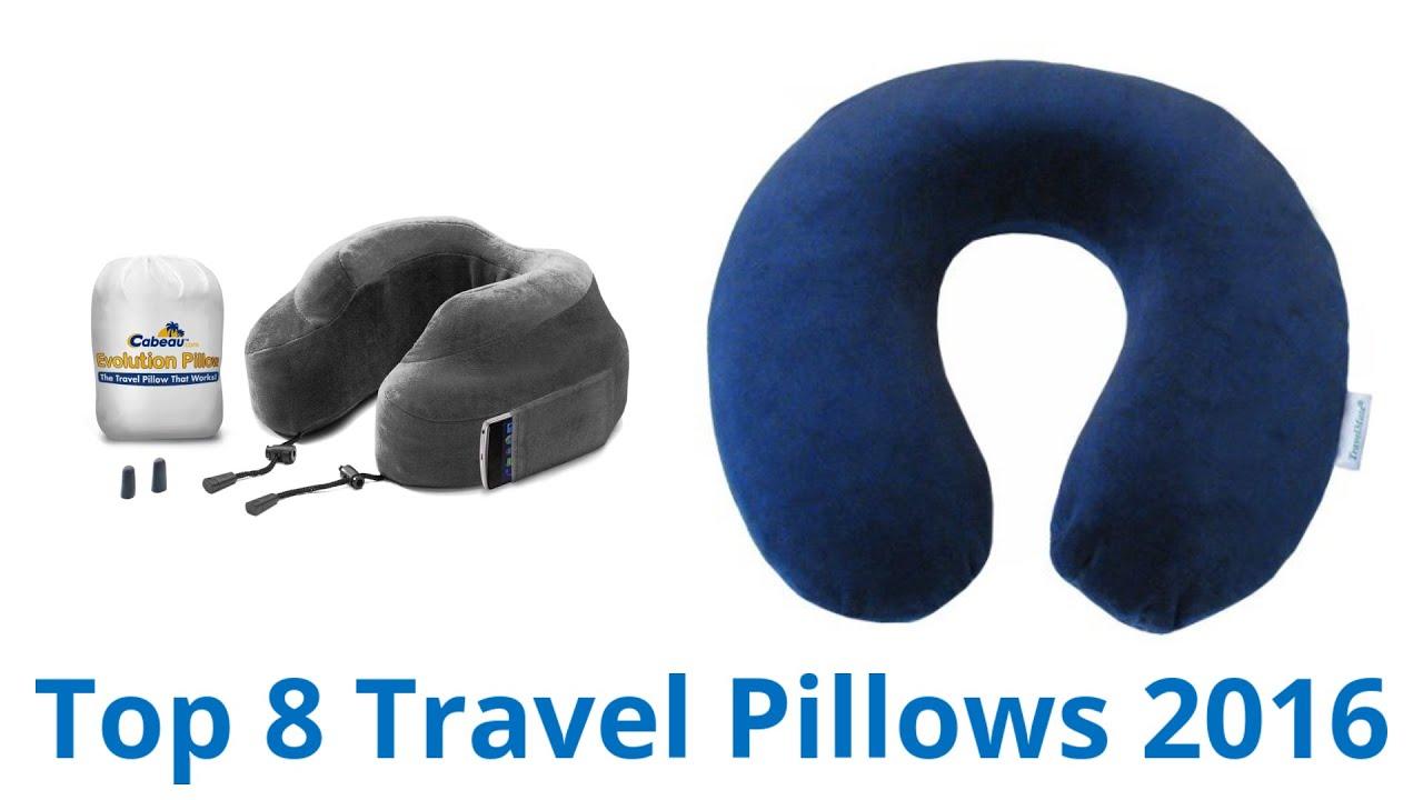 8 Best Travel Pillows 2016 - YouTube