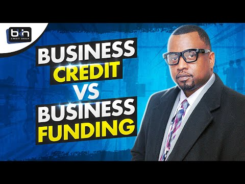 business-credit-vs-business-funding