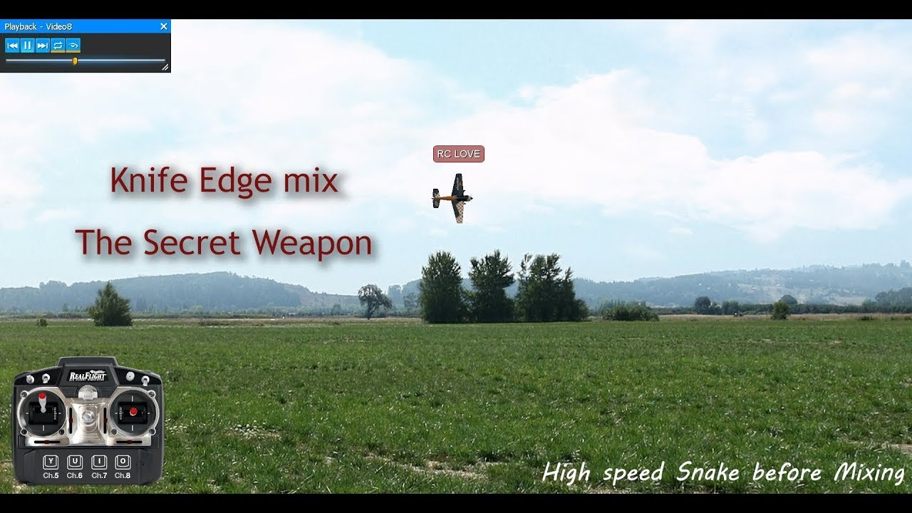 Knife Edge mix Tutorial - The Secret weapon - RC Groups