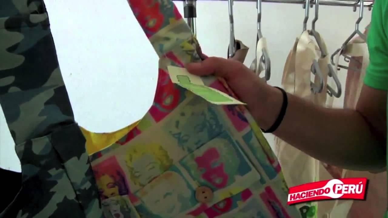 Bolsos Ecologicos Reciclados de Botellas plásticas en Gamarra Lima Peru -  YouTube d8a6a698875