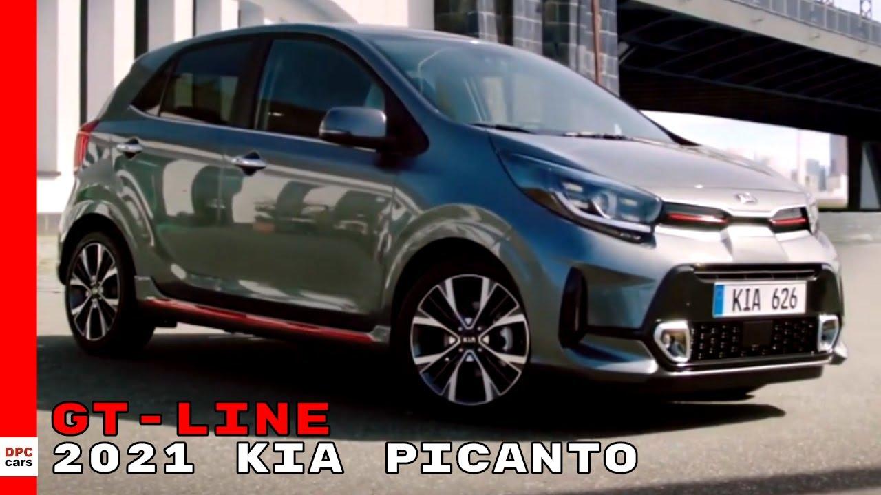2021 Kia Picanto Gt Line Facelift Youtube