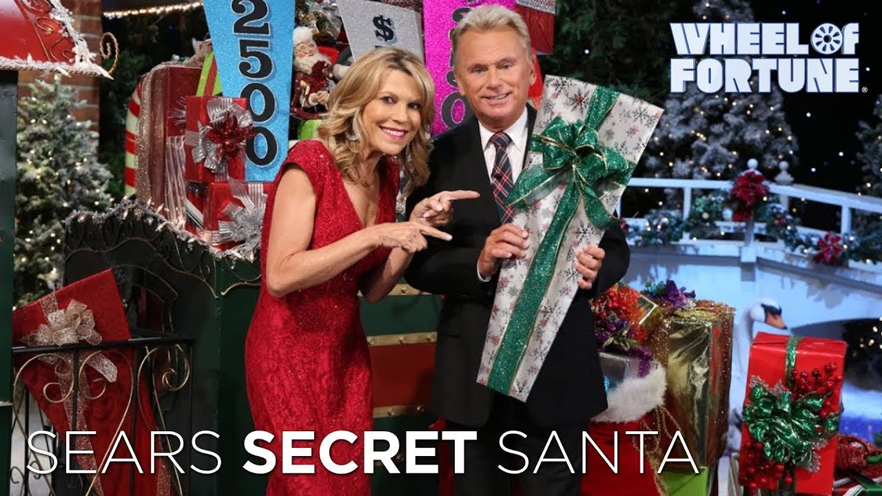 secret santa sweepstakes on wheel of fortune sears secret santa sweepstakes wheel of fortune youtube 7311