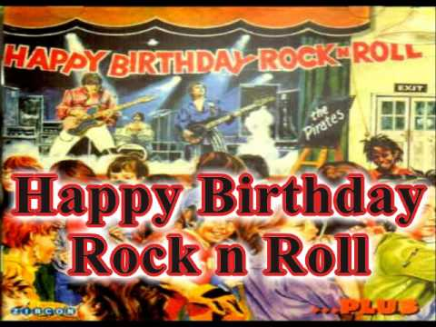 The Pirates Happy Birthday Rock N Roll Youtube