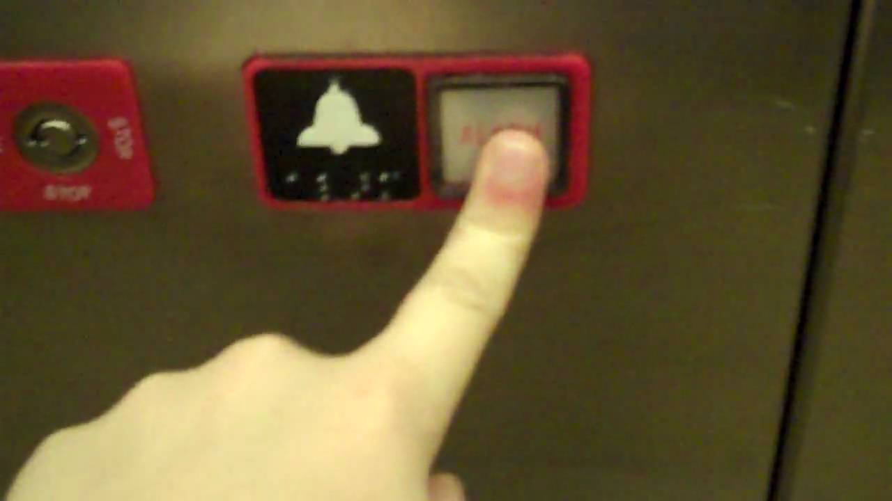 Ringing The Alarm Bell In A National Elevator Youtube
