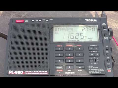 Vatican radio french 11625 Khz Shortwave Perry Island DXpedition