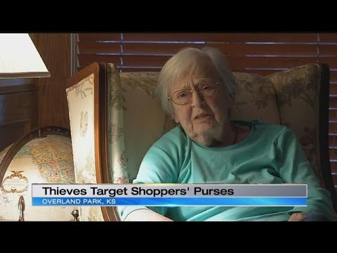 Overland Park police search for suspects accused of theft from purses