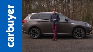 Mitsubishi Outlander PHEV SUV review - Carbuyer