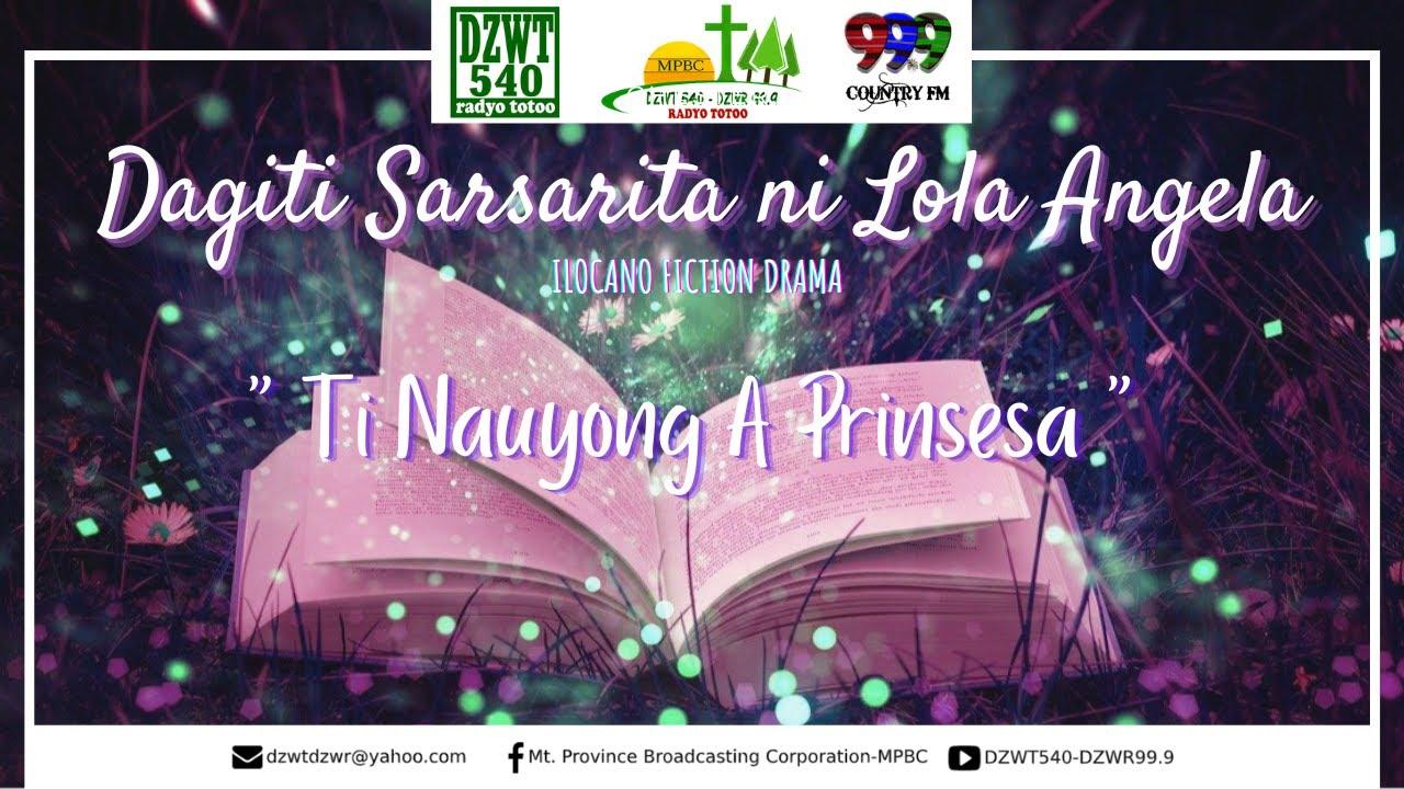 DAGITI SARSARITA NI LOLA ANGELA - Ilocano Fiction Drama | 09.27.2020