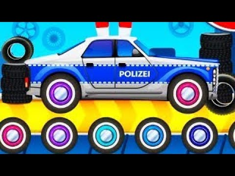 Dream Cars Factory Paint Cars Make Custom Cars Police Car Best IOS Games