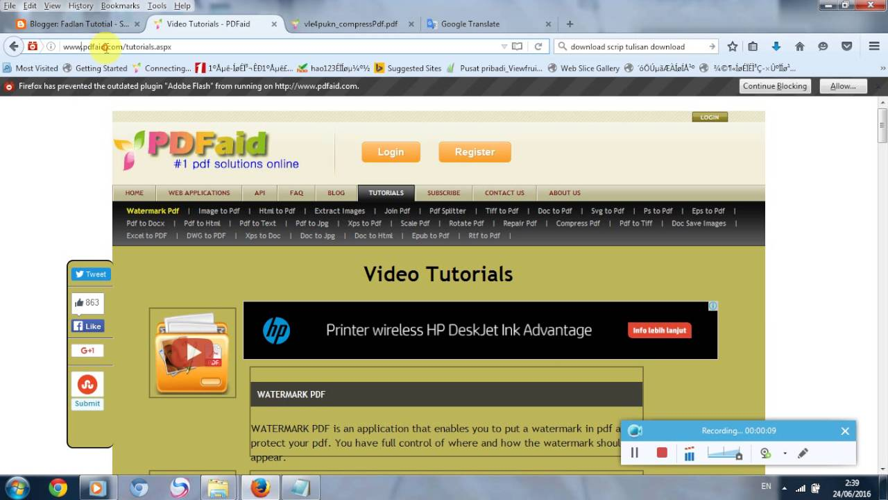How to compress pdf online max size 300 kb youtube stopboris Images