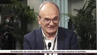 """Défis Urbains - Projet lauréat """"Revitalisation du centre-bourg"""" (Decazeville)"""