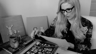 ASMR Art School Interview Roleplay: Portfolio Perusing with Page Turning