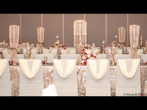 GLAM CENTERPIECES FOR WEDDINGS, BIRTHDAY PARTIES & EVENT PLANNING
